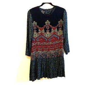 Carole Little drop waist mini dress